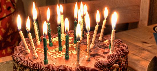 Celebrate birthday with social media