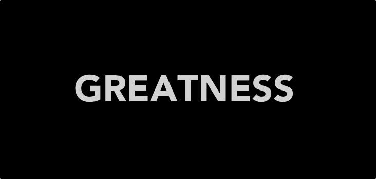 The Precursor to Greatness - Matt Report