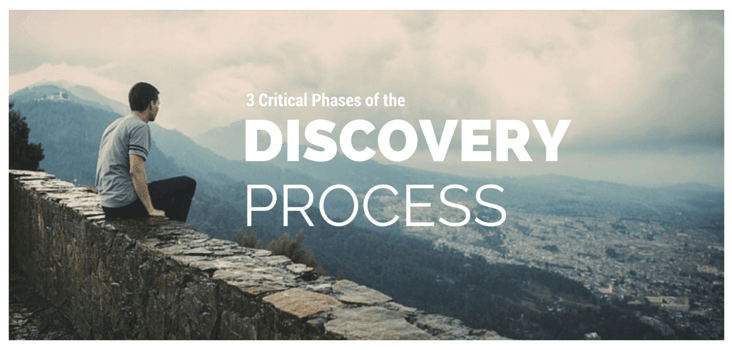 3 critical phases of discovery