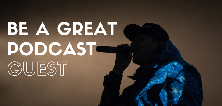 be a great podcast guest