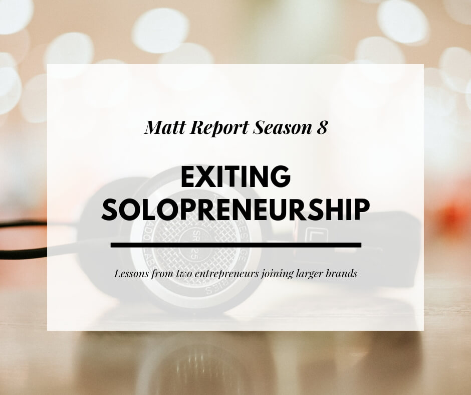 exiting soloreneurship